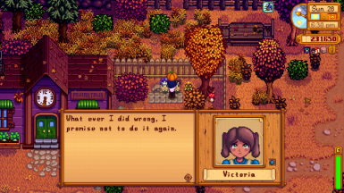 Johns daughter Victoria Hates Pumpkins, unlike her half sister sitting next to her on a Sunday evening