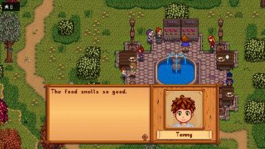 Boy, second child at the Fair.  (Eemie's Map Recolors, seasonal villagers, and Festivals Recolor)