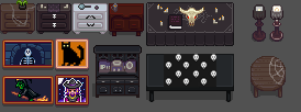 Spooky Gothic Furniture - ContentPatcher