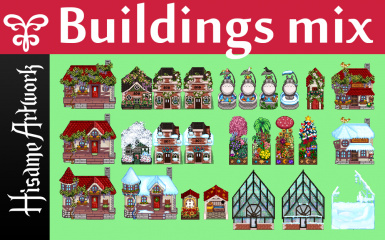 Hisame 's pick of buildings mix