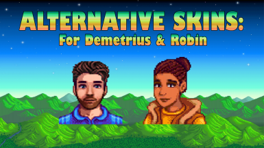 Cp Alternative Skins Demetrius And Robin At Stardew Valley Nexus Mods And Community We keep introducing you characters of stardew valley. demetrius and robin at stardew valley