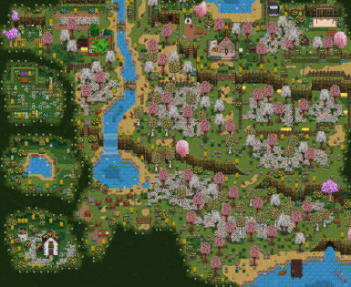 Farm map with recolours