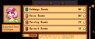 Purchase fruits and vegetable crops from mods