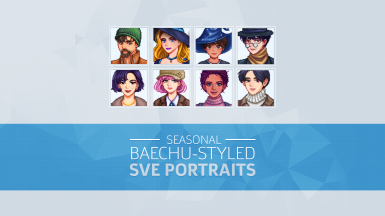 Baechu-styled Portraits for Seasonal Outfits for SVE