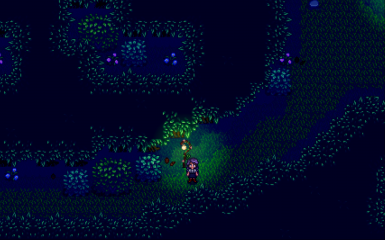 Night- Forest Path
