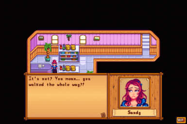 Sandy worries about you