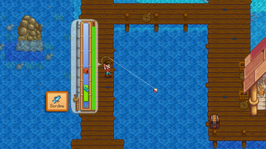 See a preview of the fish you are catching!