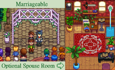 Marriage & Spouse Room