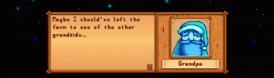 EARLY 2016 DIALOGUE from Stardew Valley version 1.04