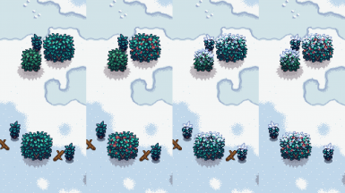 winter bushes config combos