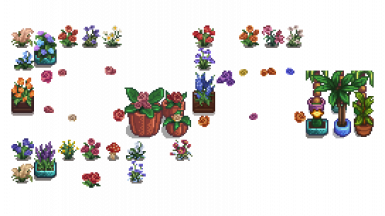 flower replacement tilesheets