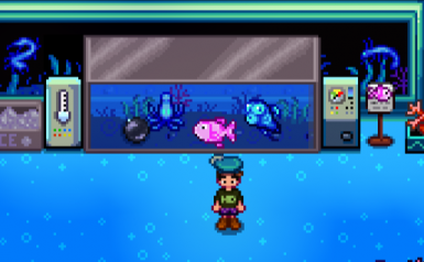 Boogie's Pearl Fish CP (description sign on the right)