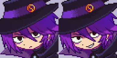 Wizard Portrait and Sprite by funamusea