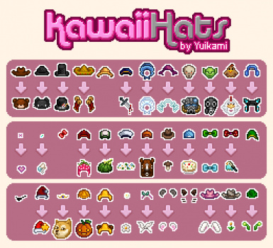 Kawaii Hats