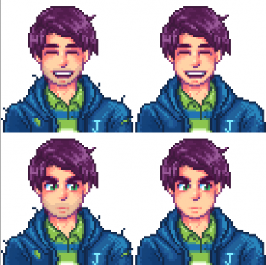 Shane portrait mods