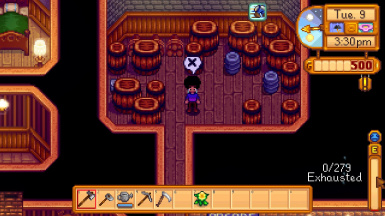how to eat in stardew valley