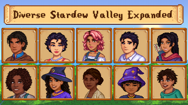 Diverse Stardew Valley Expanded (DSVE)