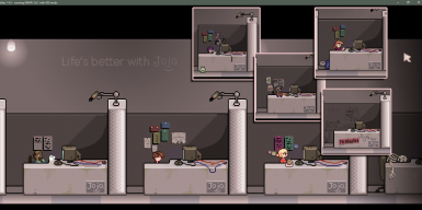 Monitors are now reduced to a more normal and appealing size. Also added some more character to Joja employees, so they don't look so dead inside... They're still human afterall, right?