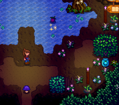 Falls Cave has some weird forage
