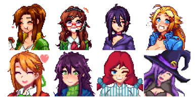 Combined Girl Mod for Stardew1.4