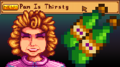 Use juice for the Pam Is Thirsty quest!