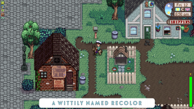With Recolor installed - A Wittily Named Recolor