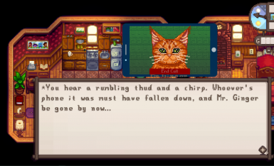 Chaotic kitty energy.