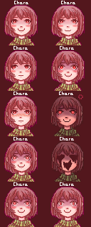 Undertale Chara Startale valley project MOD 1.1