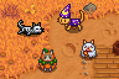 Spooky Cat Costumes