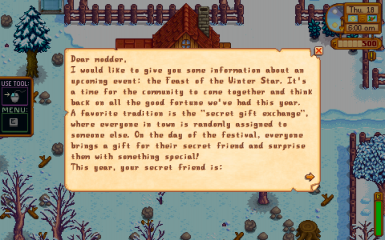 Exclude NPCs from giving and receiving Winter Star gifts