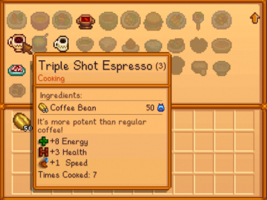 New recipe for Triple Shot Espresso