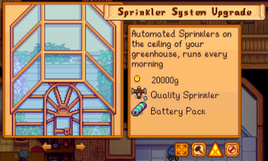 Greenhouse Sprinklers