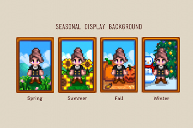 Seasonal Display Background