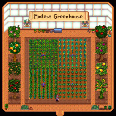 Ellie's Ideal Greenhouse