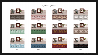 Lovely Kitchen Cabinet Colors