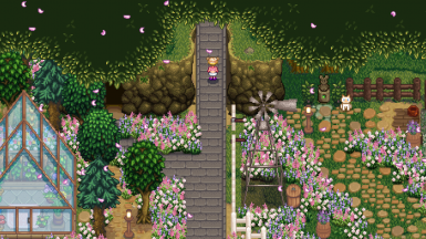 Ali S Flower Grass New Alternative Version At Stardew