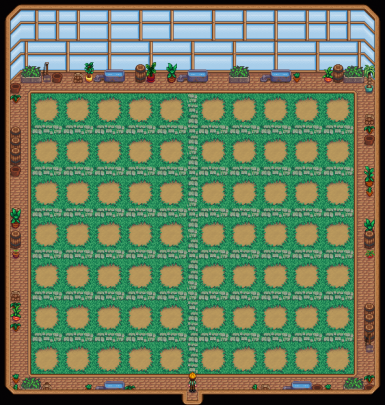 Starblue Example of Bigger Greenhouse