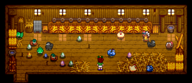 A bunch of colorful eggs! How did they get in there?