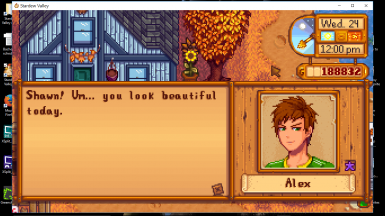 Flirty heart dialogue