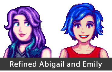 Refined Abigail and Emily Portraits