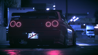 Nissan R34 LED tail lights v.2