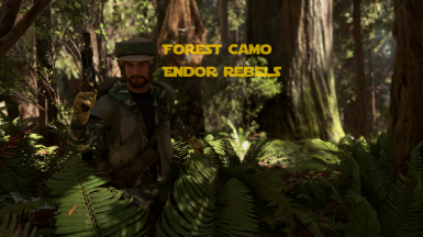 Forest Camo Endor Rebels