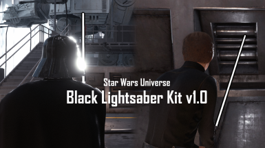 Black Lightsaber Kit v1.0