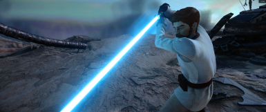 PiNinja's Clone Wars Obi-Wan v2 0 - Now with Lightsabers at Star