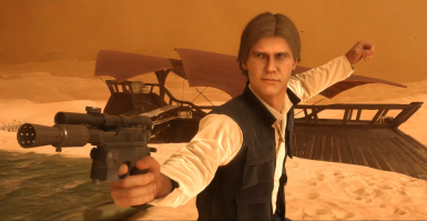 Swuff's New Hope Han Solo