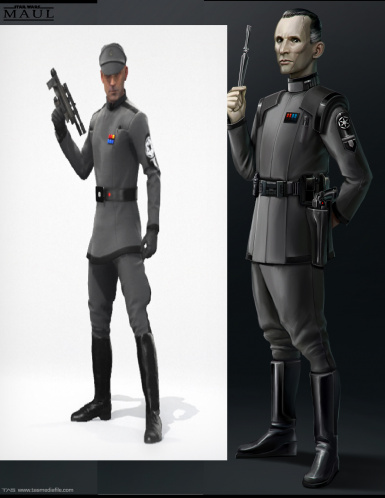 Thomas New Empire Officer