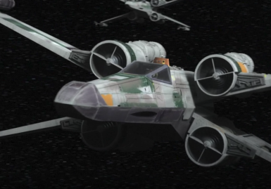Green Squadron X-Wing(SW REBELS S4)