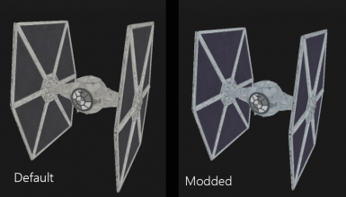 Cosmic's ESB and ROTJ TIE Fighters