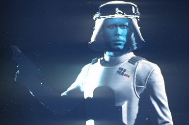 Grand Admiral Thrawn (with Battle armour)