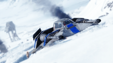 Blue Squadron T-47 Airspeeders